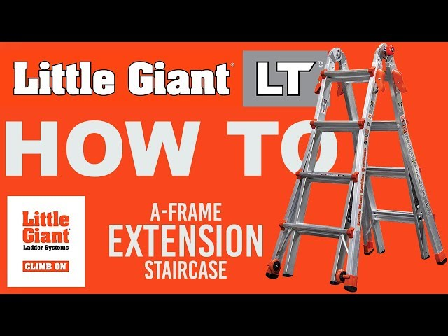 Little Giant Ladders Lt How To Youtube