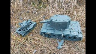КВ 2 мощная бабаха для танка ЛТТБ и башни ПАНТЕРЫ