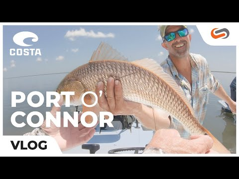 Gone Fishin' With Costa In Port 'O Connor, TX!    SportRx Vlog