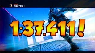Alpha Freerun | 1:37.411 | World Record!!! | Black Ops 3