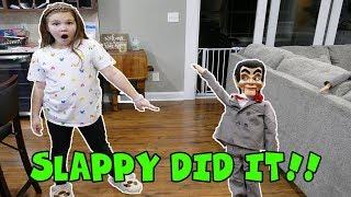 Slappy Did It! Slappy Is Alive! Escape Slappy