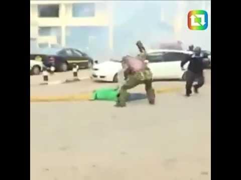 POLICE BRUTALITY in Kenya is Real ( Cord DEMONSTRATION)