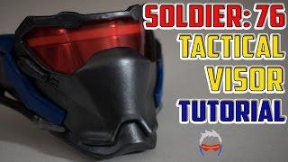 Soldier 76 Mask Tutorial Overwatch Cosplay