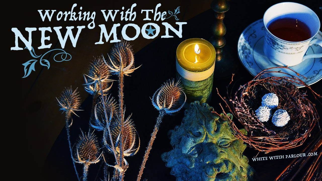 Working With The New Moon ~ The White Witch Parlour