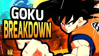 Base Goku Breakdown — Dragon Ball FighterZ Tips & Tricks