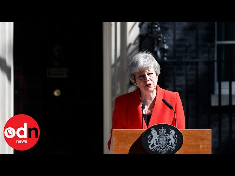 Theresa May's resignation statement in full
