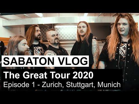 Horarios y vídeo promo de la gira de SABATON con Apocalyptica y Amaranthe