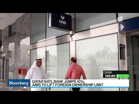 Shares In Qatar National Bank Surge The Most In Eight Years