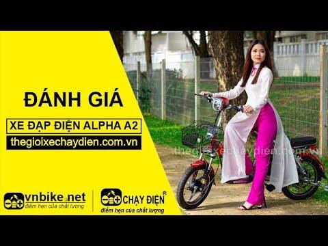 Đánh giá xe đạp điện Alpha A2