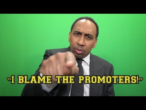 """STEPHEN A. SMITH'S THOUGHTS ON WHY UFC IS BOOMING IN USA OVER BOXING """"I BLAME THE PROMOTERS!"""""""