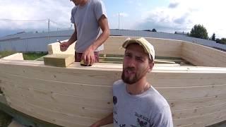 Баня 7х4 с террасой, полный фарш  комплектация БОМБА!