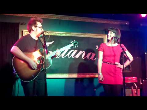 Gina Cucci and Justin Bohr sing