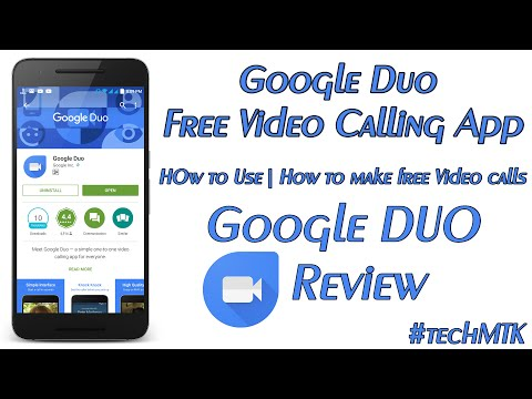 Google DUO Free Video Calling App | How to use & Review