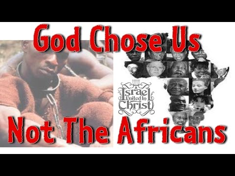 The Israelites:  God Chose Us Not The Africans (African Street Festival 2015)