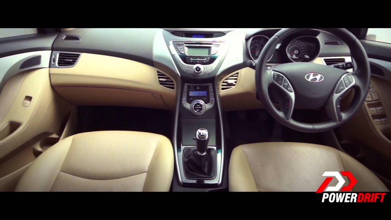 hyundai elantra interior powerdrift youtube. Black Bedroom Furniture Sets. Home Design Ideas