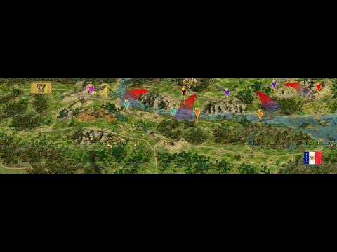 Cossacks 2 Battle for Europe: online battle Wagram L.L. (Austria) vs David (france) |
