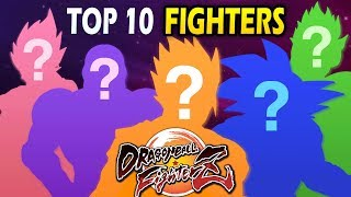 Top 10 Characters in Dragon Ball FighterZ