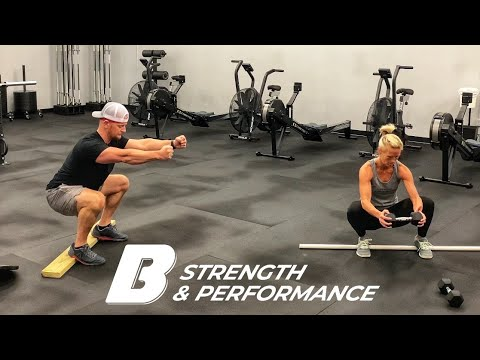 b3 athome workout full body dumbbell  youtube