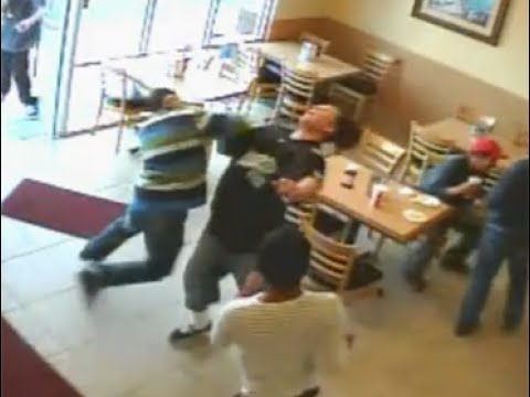 CRAZY Fight at Taco Bell  YouTube