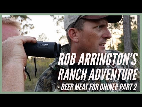 Rob Arrington's Ranch with Paul Cuffaro and Aquascape - Deer Meat For Dinner Part 2