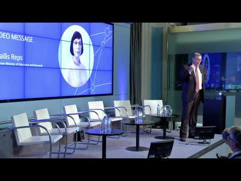 "Estonian Presidency Conference ""Embedding digital into societal challenges"" 07.12.17 Part 1."