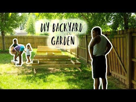 DIY Backyard Garden | Family Project | Summer Time