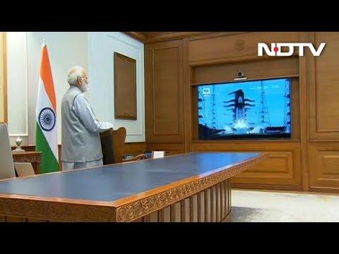 PM Modi ने Live TV पर देखी Chandrayaan-2 की Launching, वैज्ञानिकों को दी बधाई