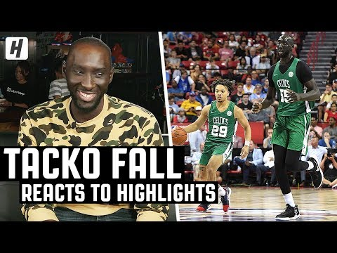 In The Zone - The Boston Celtics are officially taking a shot on Tacko Fall