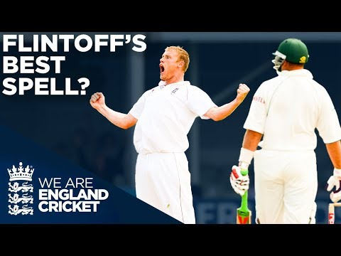 Flintoff's Best Ever Bowling Spell In Test Cricket? | South Africa v England | England Cricket 2020