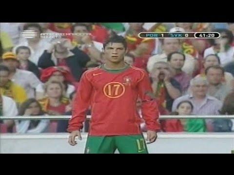 Cristiano Ronaldo Vs Slovakia Home (04/06/2005)