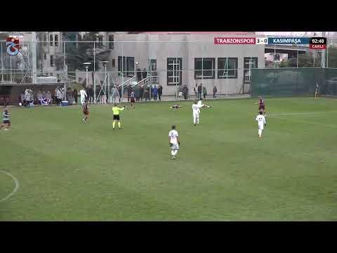 U19 Elit Ligi 18. Hafta [ Trabzonspor - Kasımpaşa ]