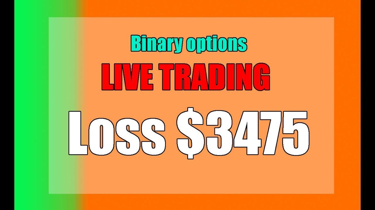 Binary option losses