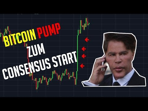 BITCOIN PUMPT ZU CONSENSUS BEGINN - Daily Krypto Update