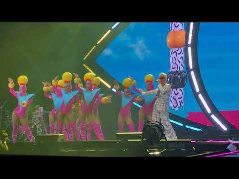 Katy Perry - Teenage Dream Witness the Tour São Paulo Brazil  at Allianz Parque