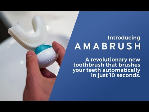 Amabrush World S First Automatic Toothbrush Youtube