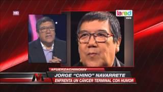 El secreto del Chino Navarrete para enfrentar el cáncer terminal