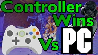 CONTROLLER ACE VS PC Players - Rainbow Six Siege Gameplay w/ Serenity17 & Bedasaja