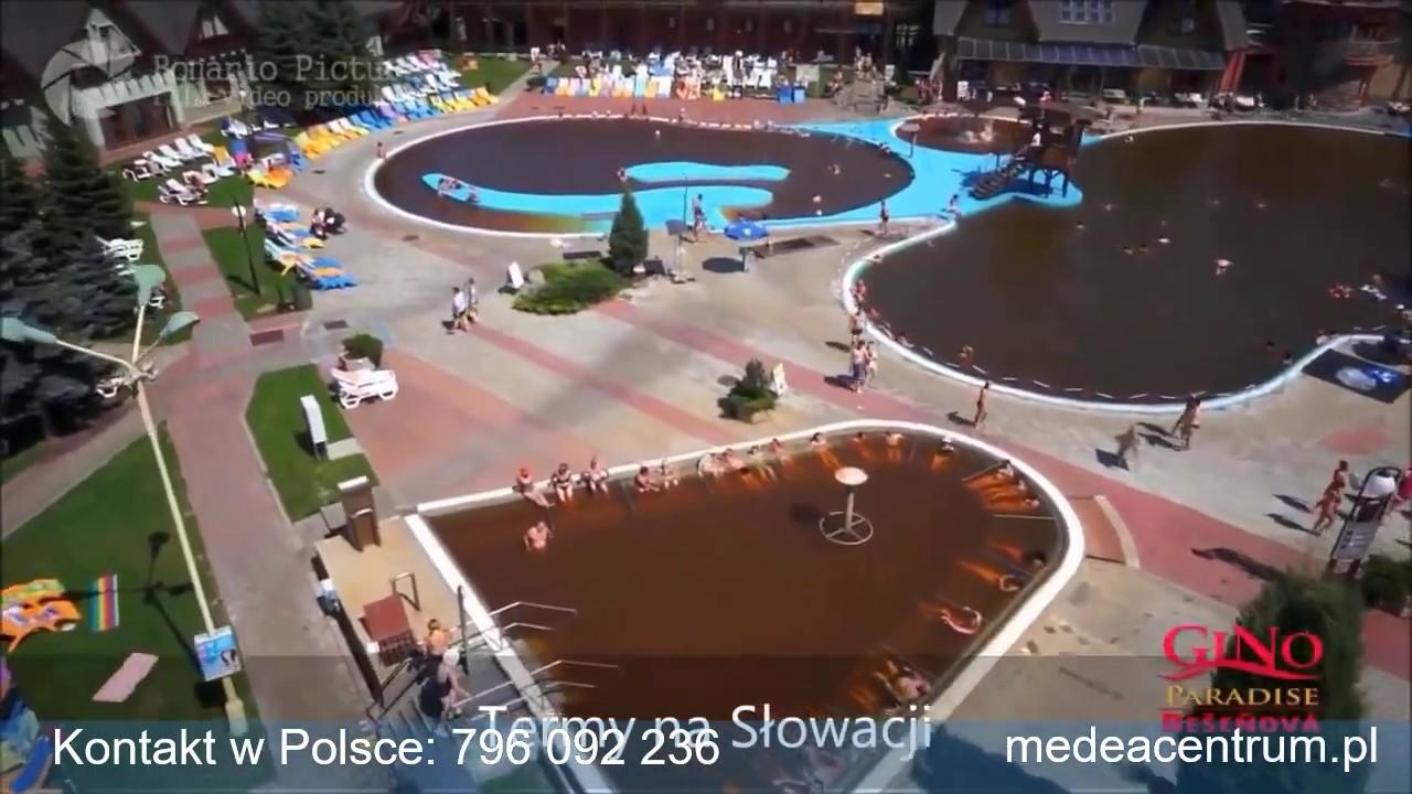 Baseny Termalne Besenova Słowacja. Termy Beszeniowa. Aquapark i hotel Besenova