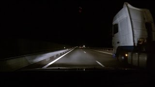 Osram Night Breaker Unlimited 110% H4 Low-High Beam Test