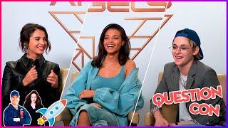 Charlie's Angels - Kristen Stewart rêve de se déguiser en plombier I Interview Question Con
