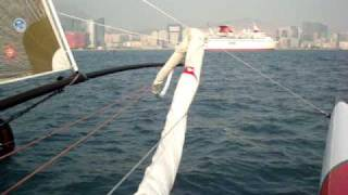 Extreme 40 Catamaran racing Hong Kong