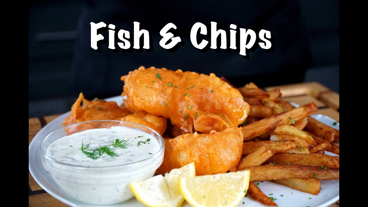 How To Make Fish & Chips - Homemade Fish & Chips Recipe #MrMakeItHappen #FishandChips