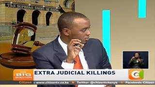 Big Question: Extra Judicial Killings