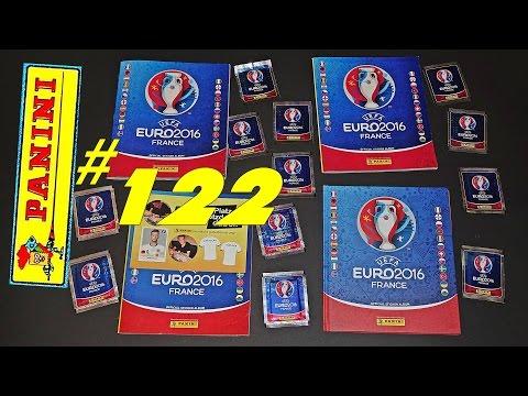 60 new PANINI Sticker UEFA FRANCE EURO 2016 PANINI Frankreich OFFICIAL video Lucky Bag ALBUM EM #122