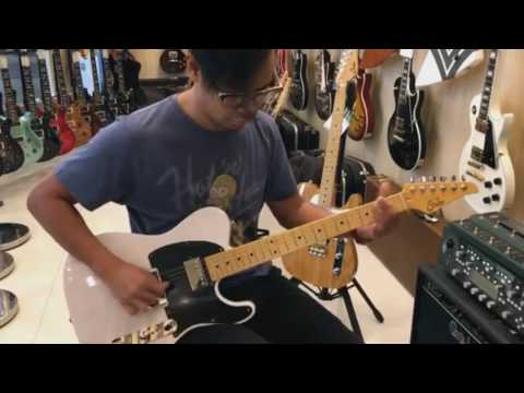 Suhr guitar classic t antique - play through indonesia