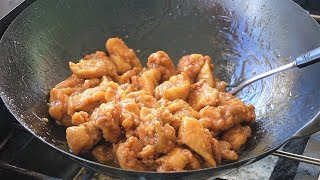 ORANGE CHICKEN. Done right