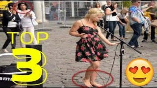 Barefoot Street Performer SHOCKS Audience with her singing voice - Sammie Jay Street performance