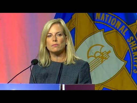 Homeland Security Secretary Nielsen comments on immigration crisis at border