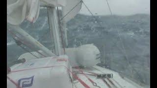 Hurricane Storm Sailing, 10 days at sea! Bahamas to Newport non-stop!