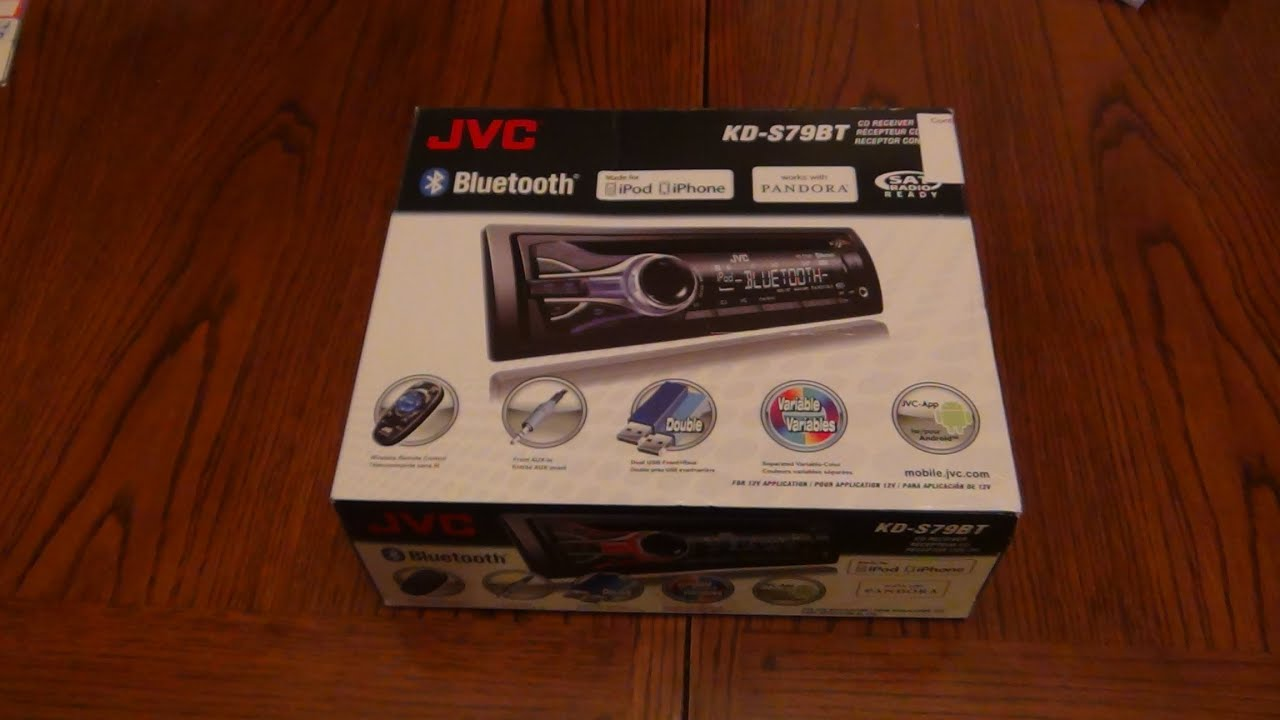 hight resolution of jvc kd s79bt unboxing youtube jvc usb jvc kd s79bt unboxing